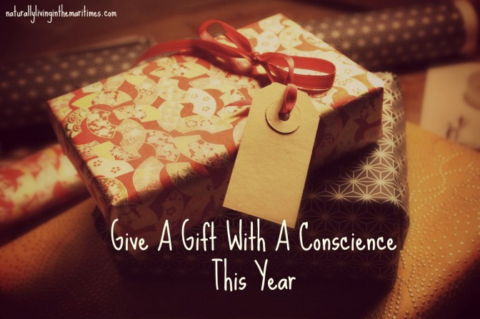 Give A Gift With A Conscience This Year